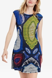 DESIGUAL Mineral Mini Dress - Front cropped