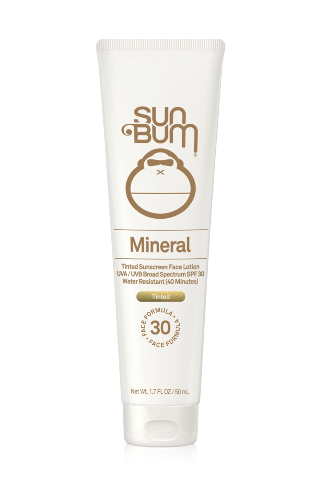 Sun Bum Mineral SPF 30 Tinted Sunscreen Face Lotion- 1.7oz - Main Image