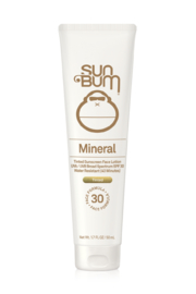 Sun Bum Mineral SPF 30 Tinted Sunscreen Face Lotion- 1.7oz - Front cropped
