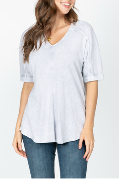 M-rena  Mineral Wash Dolman Sleeve Top - Product List Image