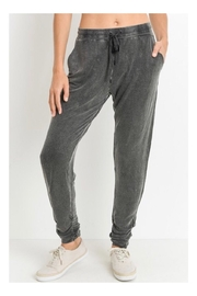 Polly & Esther Mineral Wash Joggers - Product Mini Image