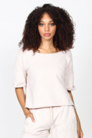 M. Rena Mineral Wash Pull Over Top - Front full body