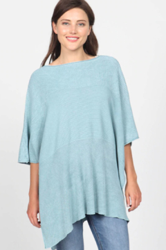 M. Rena Mineral Wash Scoop Neck Sweater - Product List Image
