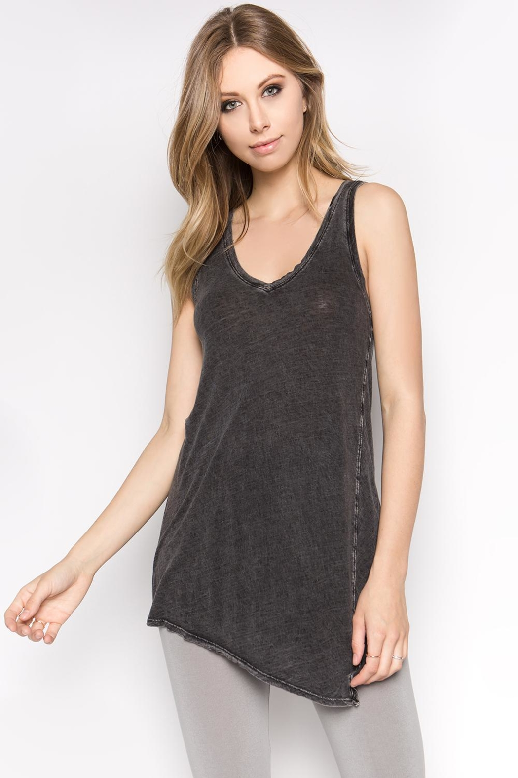 M. Rena Mineral Wash Tunic - Front Cropped Image