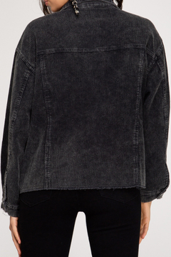 She + Sky Mineral Washed Corduroy Jacket - Alternate List Image