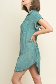 Umgee USA Mineral Washed Dress - Side cropped