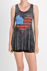 T-Party Fashion Mineral Washed Tank - Product Mini Image