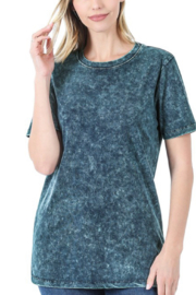 Zenana Mineral washed tee - Front cropped