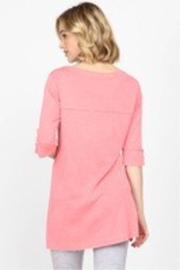 M. Rena  Mineral Washed Top - Front full body