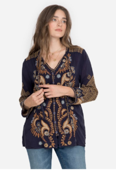 Johnny Was Minerva Blouse - Product List Image