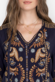 Johnny Was Minerva Blouse - Side cropped