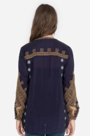 Johnny Was Minerva Blouse - Front full body