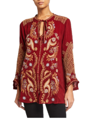 Johnny Was Minerva Blouse - Front cropped