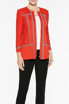 Ming Wang Poppy Red Jacket - Product List Image