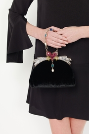 Ming Ray Mingray Black Clutch - Front cropped