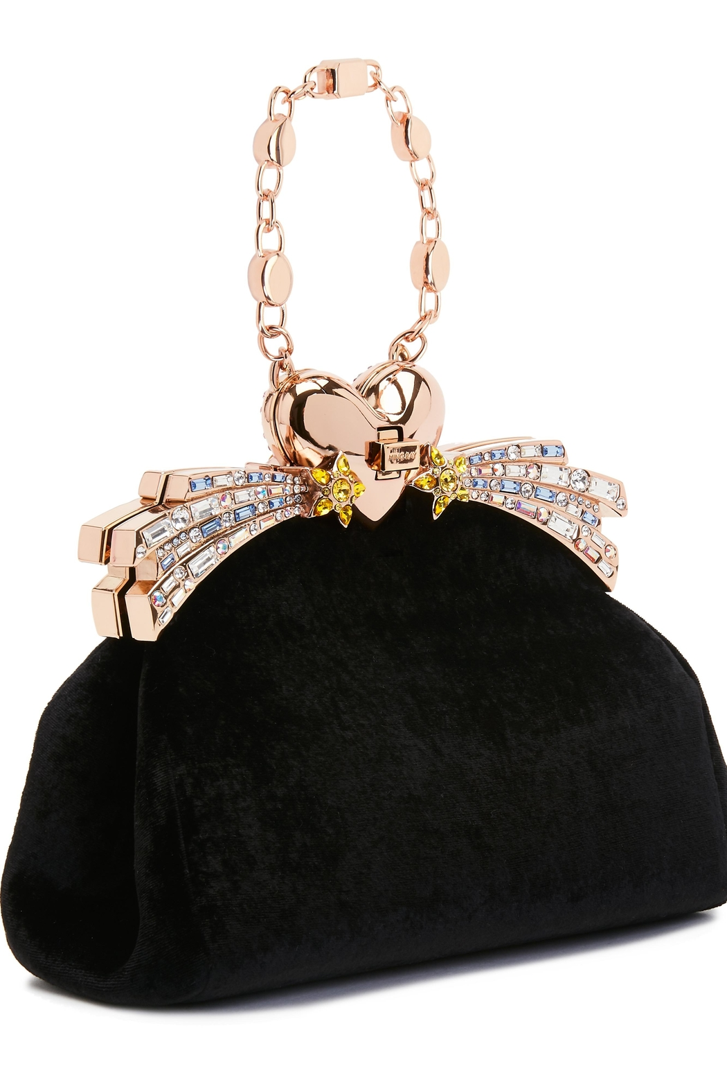 Ming Ray Mingray Black Clutch - Side Cropped Image
