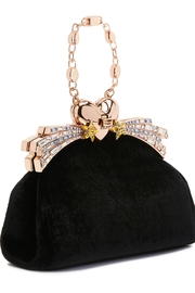 Ming Ray Mingray Black Clutch - Side cropped