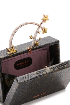 Ming Ray Mingray Lizard Clutch - Alternate List Image