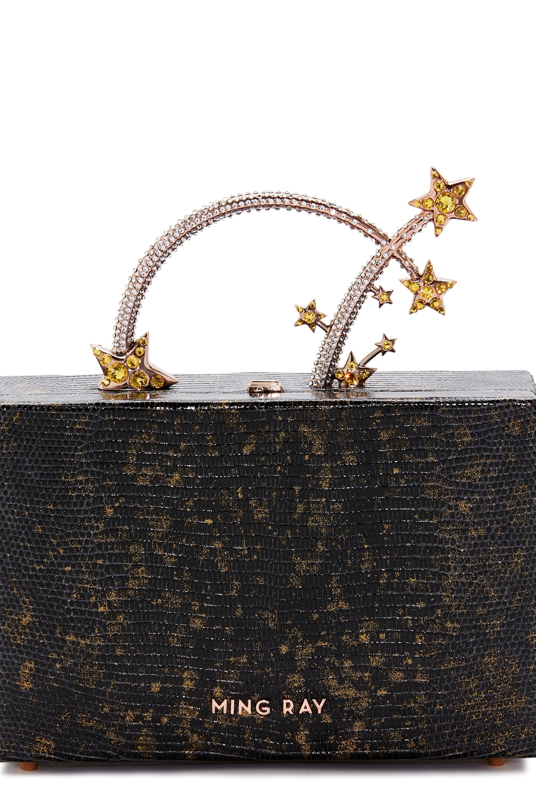 Ming Ray Mingray Lizard Clutch - Side Cropped Image