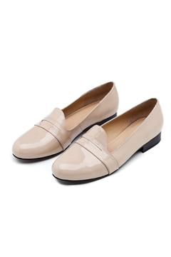 Shoptiques Product: Nude Leather Loafer