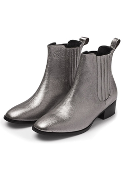 Minhk Kenya Silver Boots - Product List Image