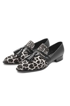 Minhk Mariel Pony Lynx Loafers - Product List Image