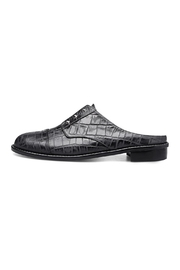 Minhk Naomi Croc Black Shoes - Front full body