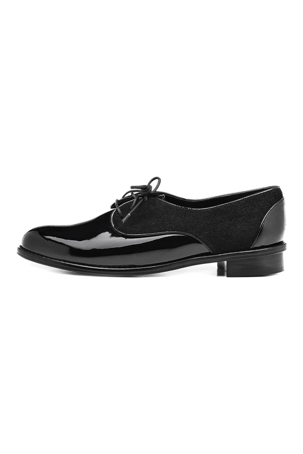 Minhk Nicole Patent Leather Shoes - Front Cropped Image
