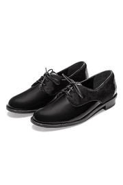 Minhk Nicole Pony Black Shoe - Front cropped