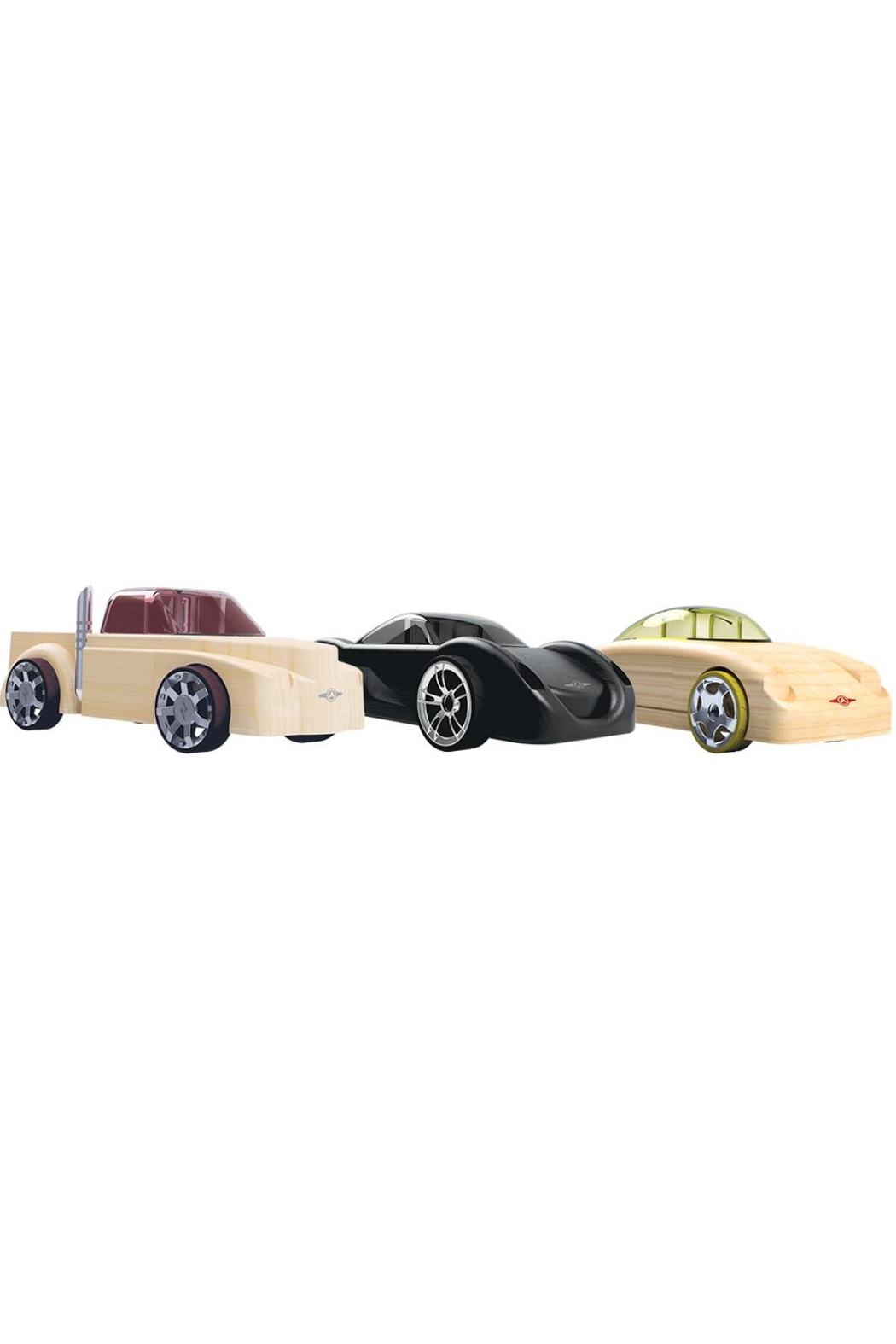 Automoblox Mini 3-Pack Racers - Front Cropped Image