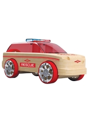 Automoblox Mini 3-Pack Rescue - Front full body