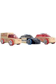 Automoblox Mini 3-Pack Rescue - Front cropped