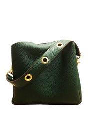 Sondra Roberts Mini Bag w Grommet Handle - Front cropped
