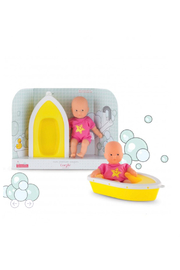 Corolle Mini Bath Plouf Doll Set - Front cropped
