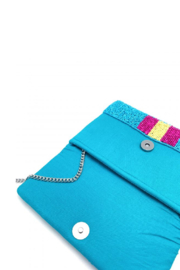 LA Chic Mini Beaded Bee Bag - Side cropped
