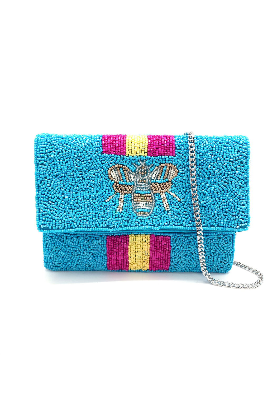 LA Chic Mini Beaded Bee Bag - Main Image