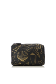 Aloha Collection Mini Black Seashore Pouch - Product Mini Image