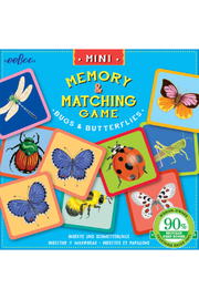 Eeboo Mini Bug & Butterflies Memory Game - Product Mini Image