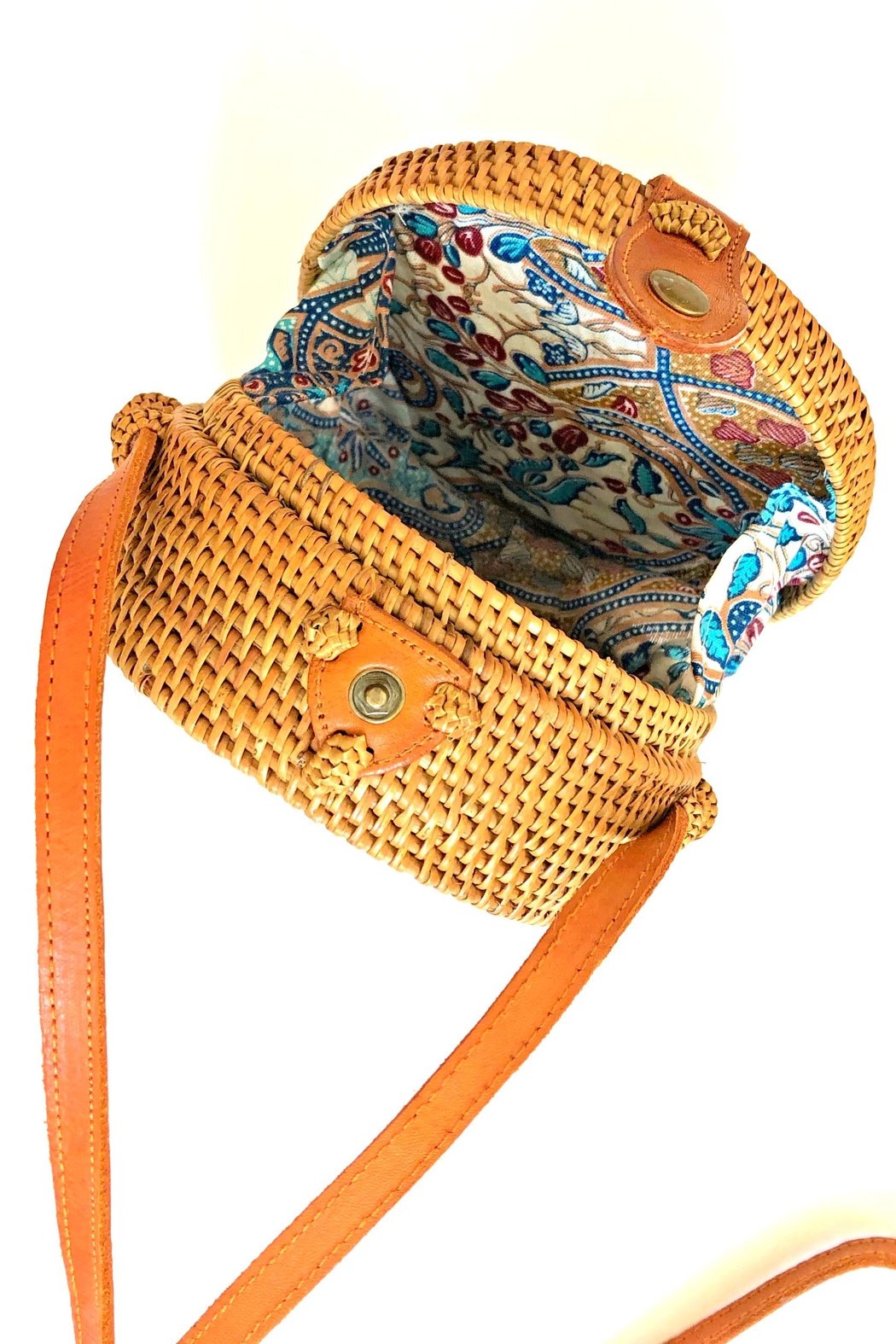 The Winding Road Mini Canteen Bag - Front Full Image