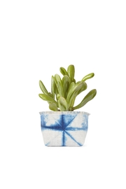Gray Green Goods Mini Canvas Planter - Front cropped