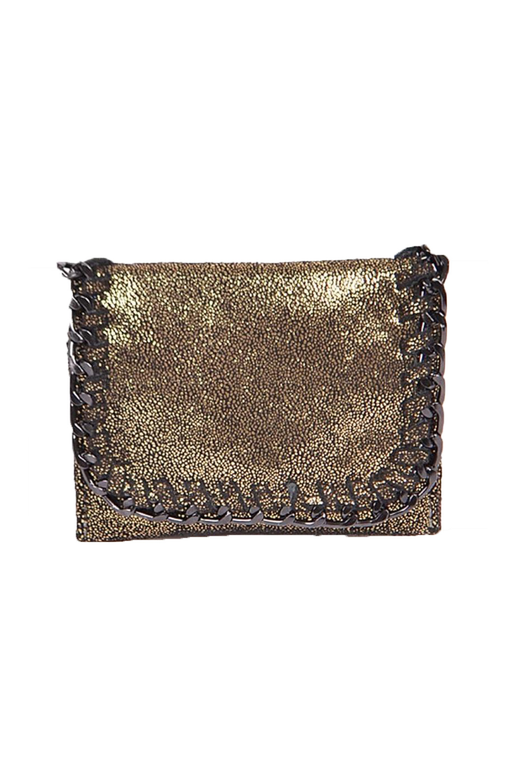gift girl  Mini Chain Wallet - Front Cropped Image