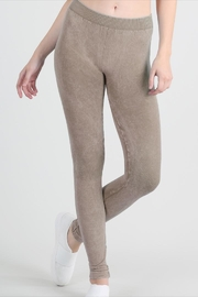 Nikibiki Mini-Check Knee Leggings - Product Mini Image