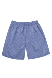 Vive La Fete  Mini Check Pull on Shorts - Front cropped