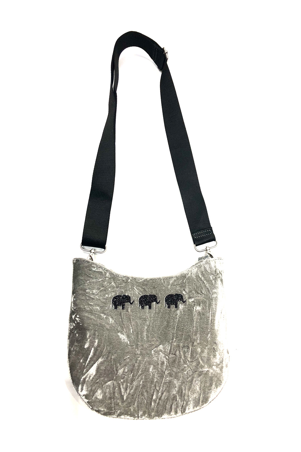 Quilted Koala Mini City Bag - Front Cropped Image
