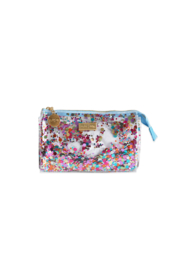 packed p Mini Cosmetic Zip - Front cropped
