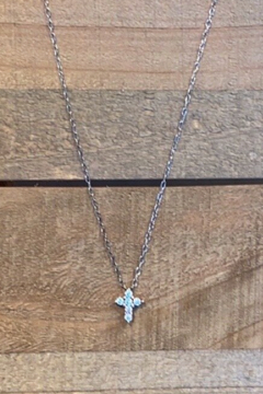 Allie & Chica Mini Cross Necklace - Alternate List Image