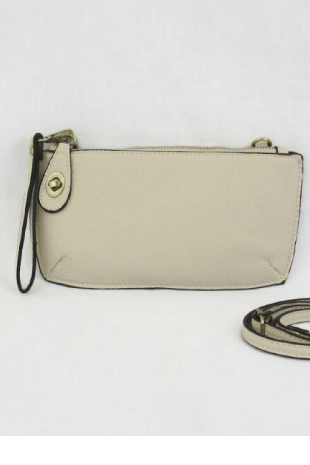 Joy Susan Mini Crossbody Wristlet  clutch - Front Cropped Image