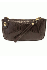 Joy Susan Mini Crossbody Wristlet Clutch  Vegan Python - Product Mini Image