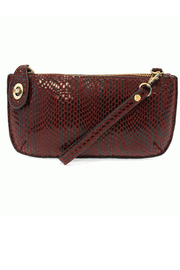 Joy Susan Mini Crossbody Wristlet Clutch Python - Product Mini Image