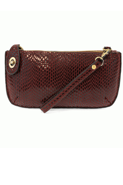 Joy Susan Mini Crossbody Wristlet Clutch Python - Alternate List Image